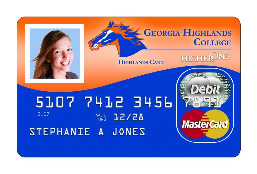 The HigherOne debit MasterCard will be available to GHC students next fall as an alternate means of receiving financial aid refunds.