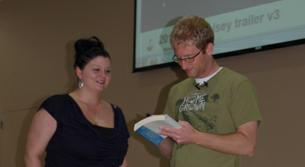 Author speaks at GHC Floyd campus
