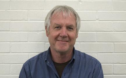 Author Larry Stephens. Photo by Ryan Jones.