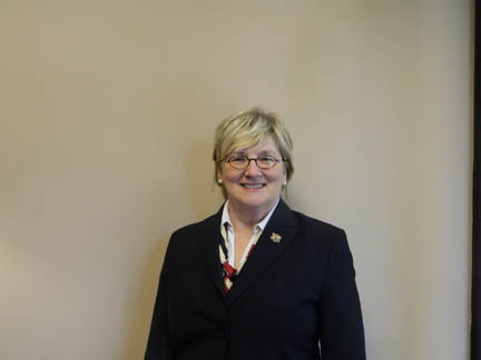 Renva Watterson is the new interim president of GHC. Photo by Isabel Langlois.