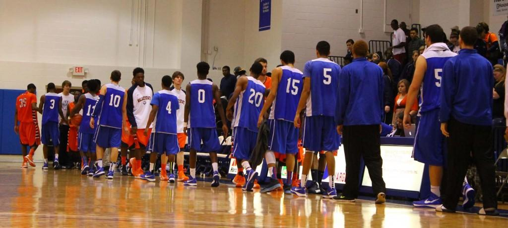 The Chargers put up a good fight against the Wallace State College Lions at the home opener. Photo by Ryan Jones.