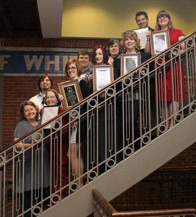 GCPA Awards. Photo contributed by Jennifer Farmer.