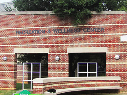 Recreation and Wellness Center at Marietta campus. Photo taken by Niya Bethea.