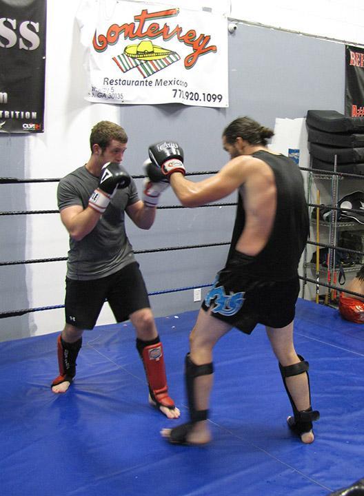 Douglasville student enjoys mixed martial arts diversity