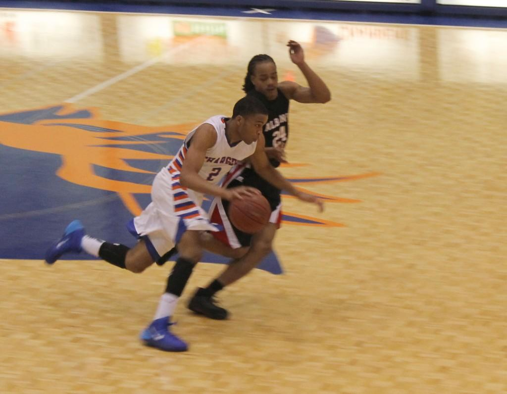 Game day for Georgia Highlands College Charger Montrel Goldston II