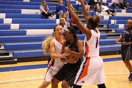 Lady Chargers victorious in home opener