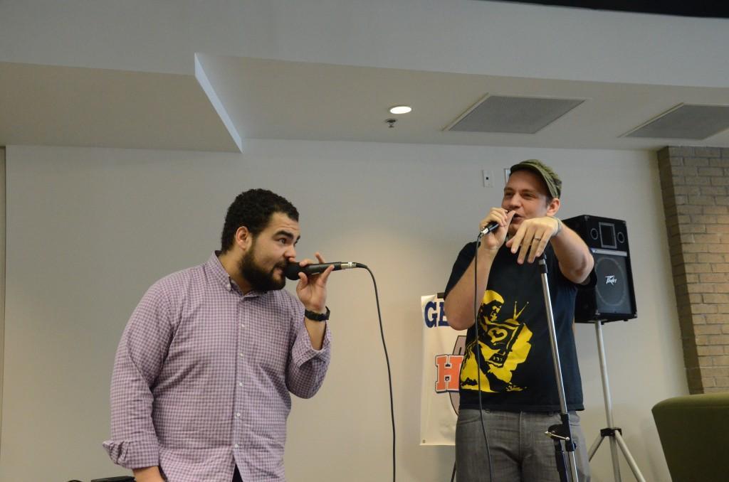 Spoken Word Poets I.N.K. inspire the Floyd campus
