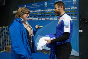 Sarah Lane interviews the Skip from the Czech Republic Curling Team, Jiri Snitil.Contributed by the World Curling Federation.