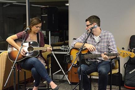 Musician Emily Hearn rocks Floyd campus