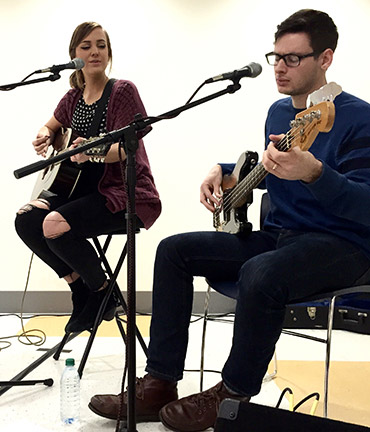 Musician Emily Hearn brings the heat to Floyd campus