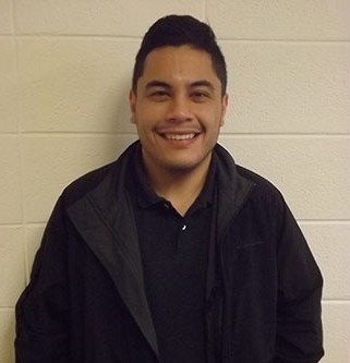 Former GHC student, Abraham Ortiz, returns to work with students on the Marietta campus