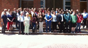 Attendees of the 30th annual Alabama Shakespeare trip. Photo Contributed