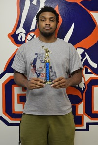Ty Toney is the champion of the Floyd ping-pong tournament  Photo by Jeremy Huskins