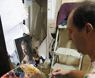 BSU minister, Frank Murphy, is also an artist