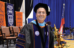 Donald Green's presidency of Georgia Highlands College becomes official