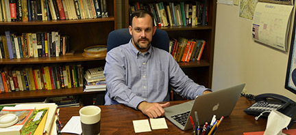 Bronson Long, GHC associate professor, discusses German Saar in his newly published book