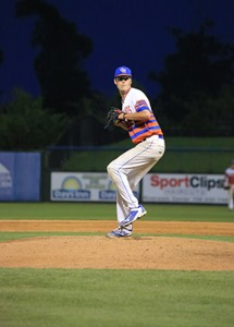 Dalton Geekie was drafted by the Braves during his second year at GHC. Contributed photo