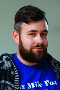 GHC student David Pulliam. Photo Sarah Cousar