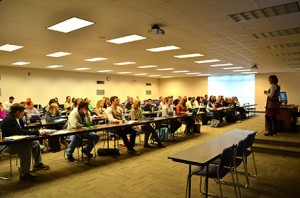 GHC nursing students take their classes at Heritage Hall in Rome. Photo by Cassandra Humphries