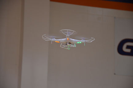 Georgia Highlands students can soar higher with drones now available for library check out