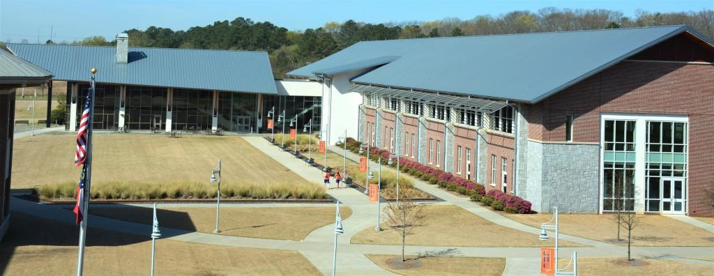 The Cartersville Student Center will be supported by the Student Support Services fee increase. The Student Center houses food services, a bookstore, a gym with a walking track, a game room, and offices and meeting spaces. Photo by Stephanie Corona