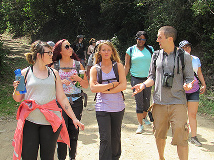 GHC student shares experience of Costa Rican spring break trip