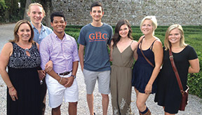 Eight GHC students visit Italy over summer