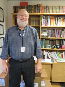 Raymond Atkins in his office at GNTC  Photo by Kayla Jameson