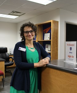 Melinda Ewers King financial  aid director Photo by Lydia Chandler