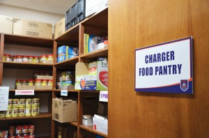 Floyd campus Food Pantry Photo by Luis Martinez