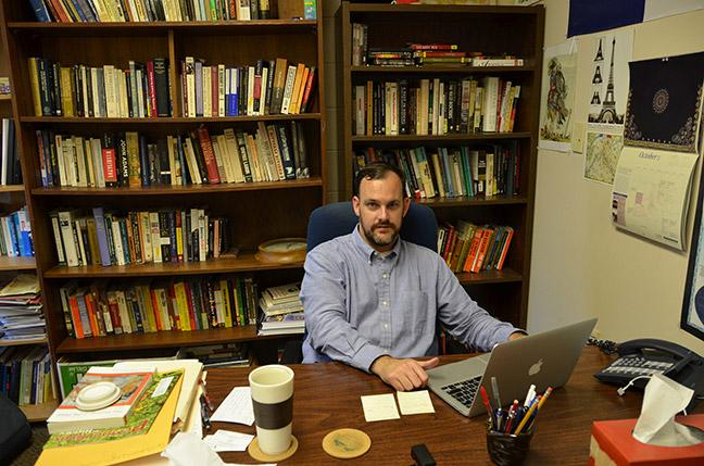 Bronson Long, director of global initiatives and study abroad, is playing a major role in bringing the Conference on the History, Politics and Cultural Aspects of Doing Business in China to Georgia Highlands. File Photo