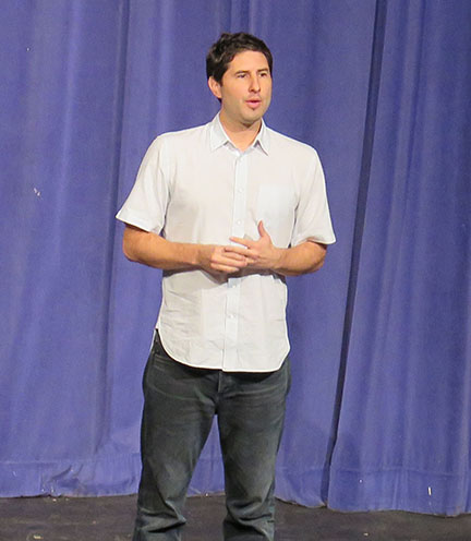 One Book event features Matt de la Peña