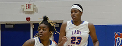 GHC Lady Chargers win first conference home game