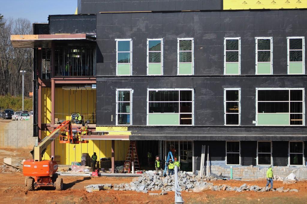 Cartersville campus construction is well underway