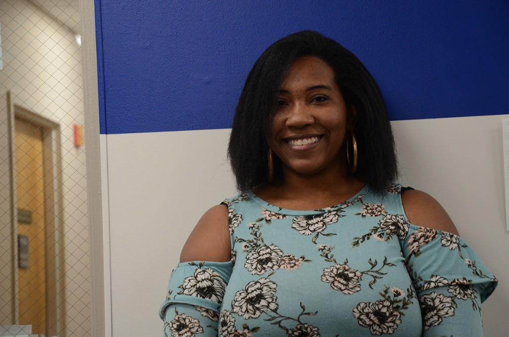 Jerlisa Dennis juggles raising children, work and school at GHC