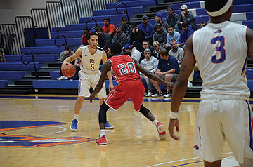 GHC's AJ Banton has played basketball nearly his whole life