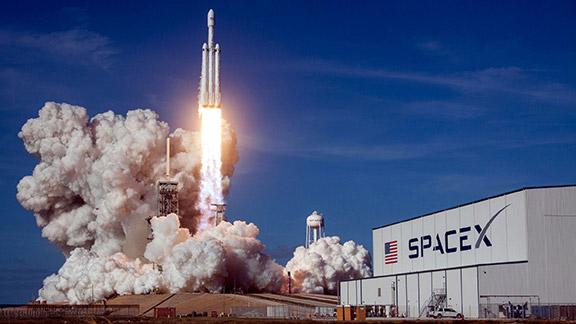 Space X innovates exploration