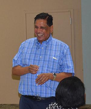 Raj Shashti explains business in Asia