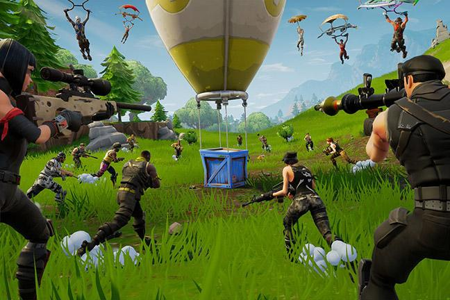 Cross-platforming now available to Fortnite players