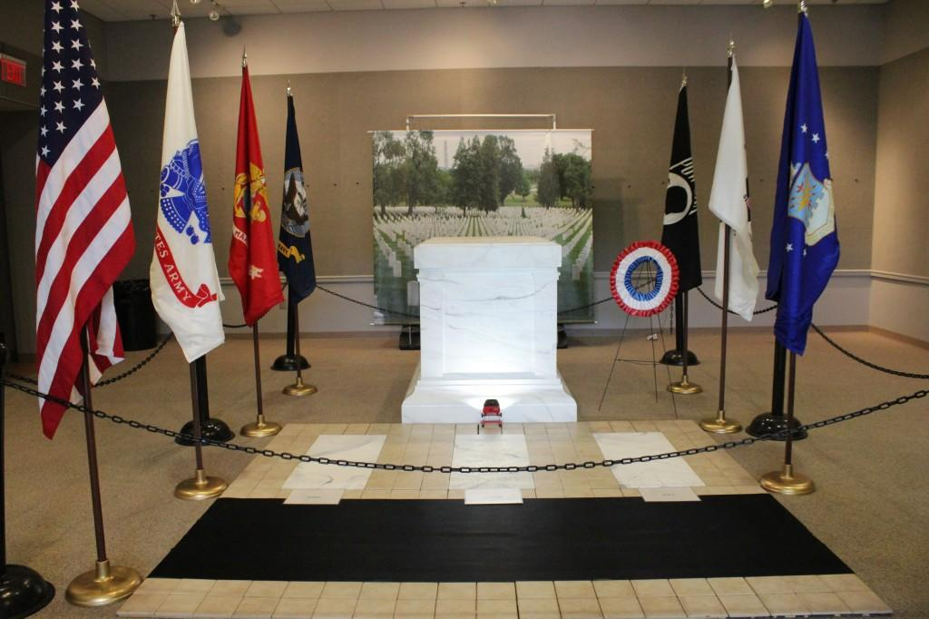 Tomb of the Unknown Soldier replica visits Floyd