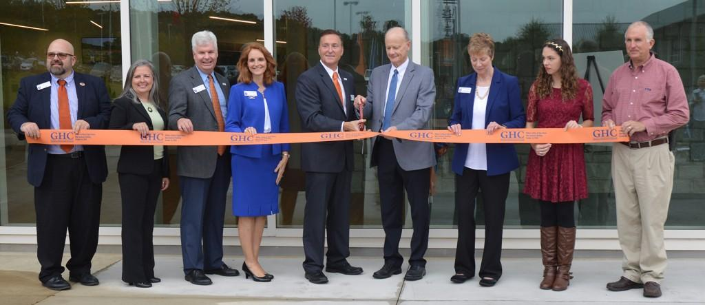 GHC holds ribbon cutting and guided tours of new STEAM building for campus, community