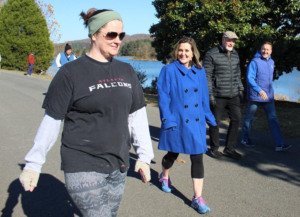 GHC hosts the annual Turkey Day Walk/Run at Floyd