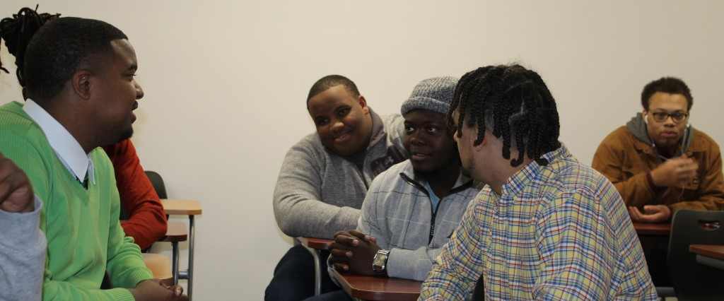 Members meet at the Floyd Campus. B2B is active at all GHC locations. Photo by Catie Sullivan