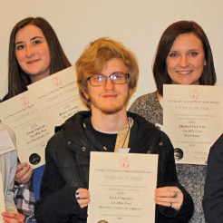 SMP attends press institutes and takes home awards