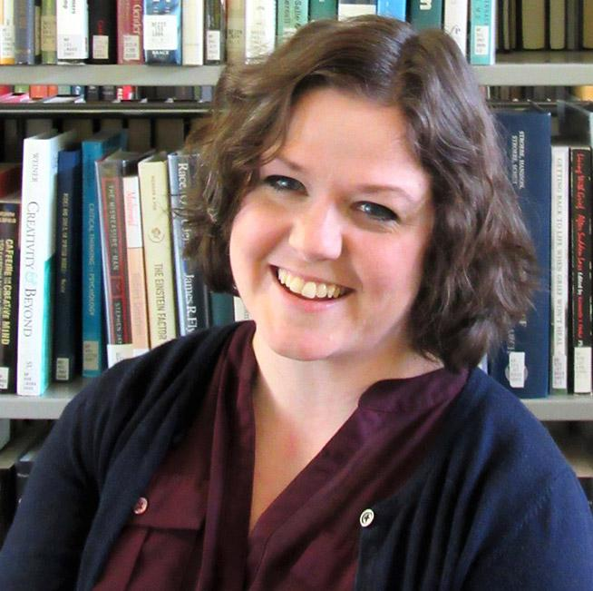 Jessica Osborne says she was brought to GHC by her lifelong passion for literature