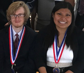 PTK honor society attends awards luncheon