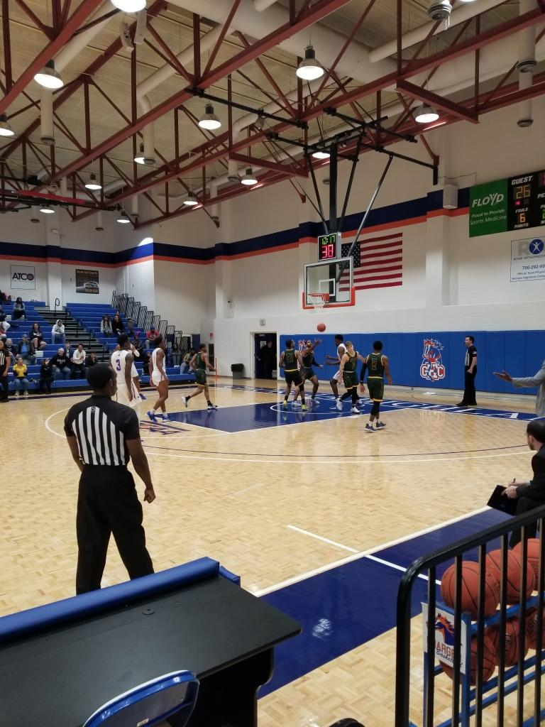 Motlow State Bucks defeat Chargers 81-80 at home game