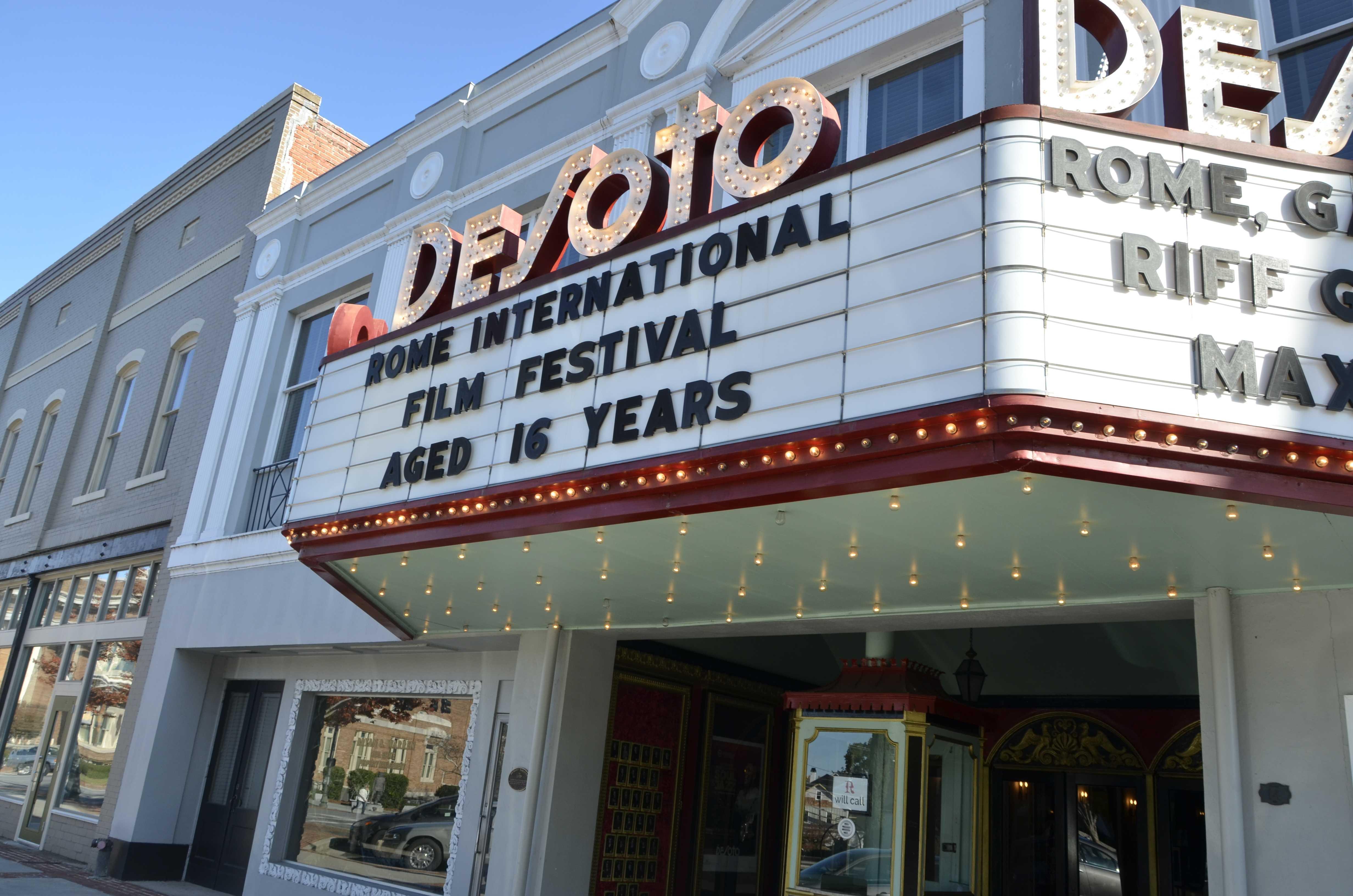 Rome International Film Festival is at the Desoto Theatre