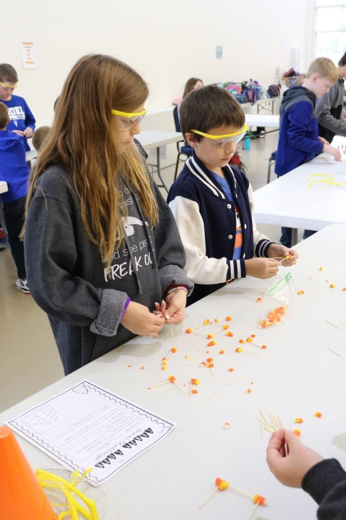 """Floyd County Elementary gifted students meet on campus for Kaleidoscope """"Build It"""" events"""