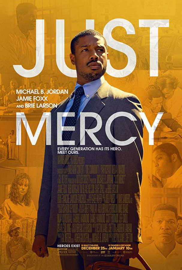 "Movie Review: ""Just Mercy"" on racism"